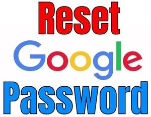Reset Google Passowrd Button