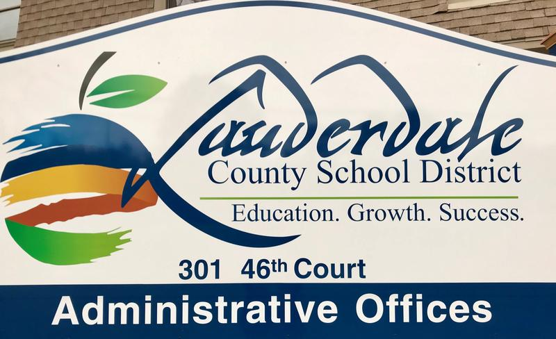 LCSD Central Office Sign