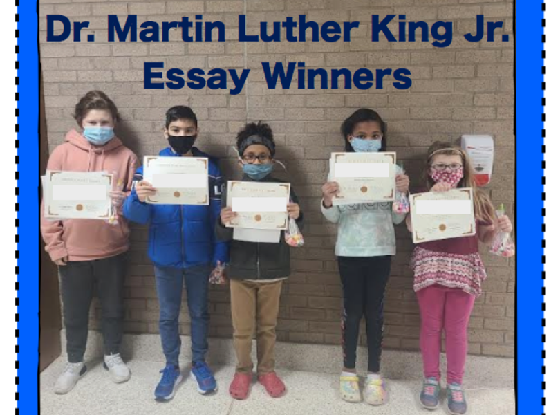Martin Luther King Jr. Essay Contest Winners