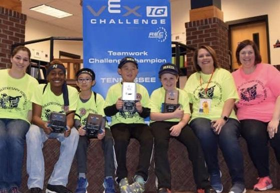 Congratulations to the Tigerbots for making it to Worlds! Featured Photo