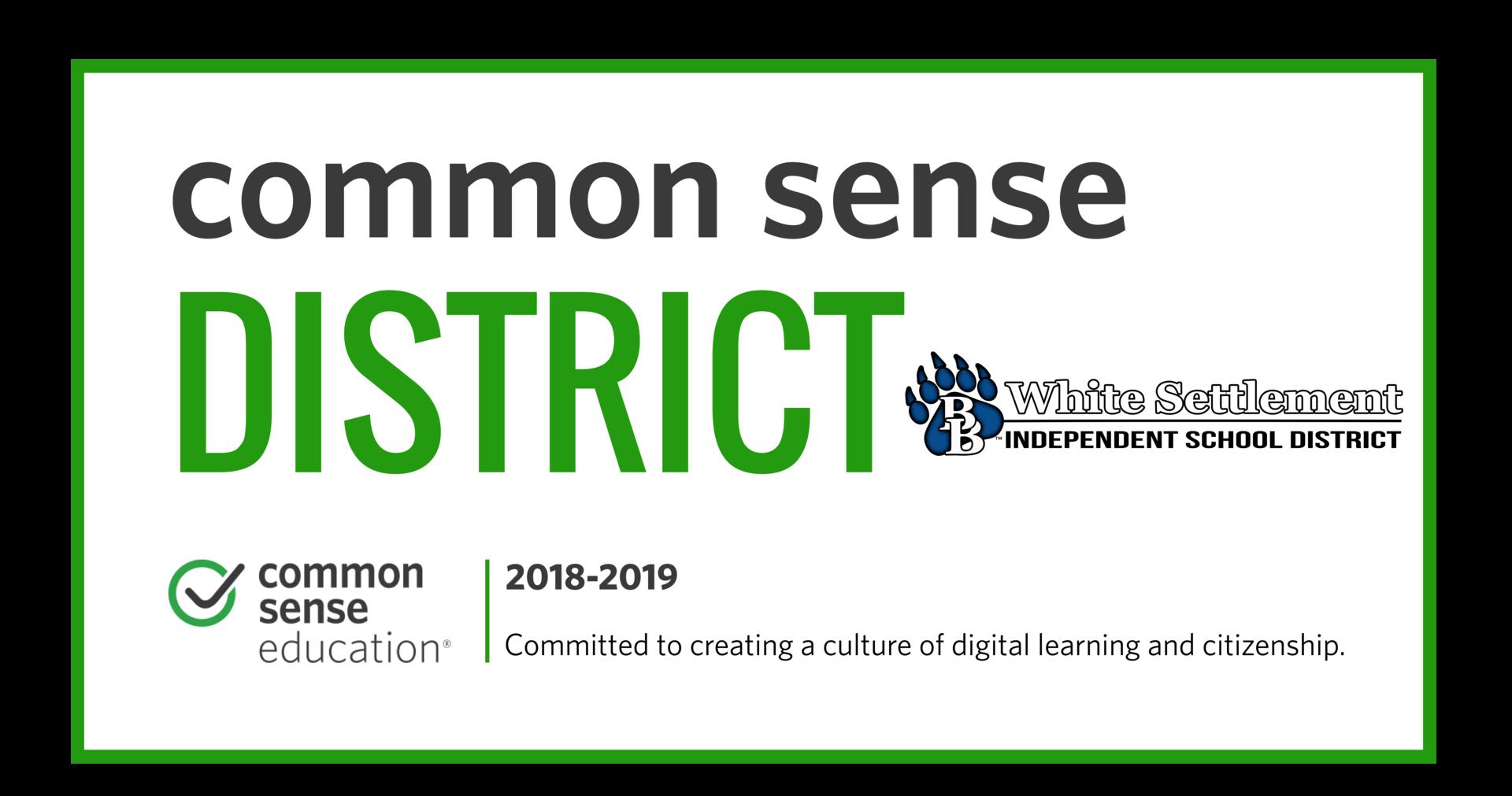 Common Sense District