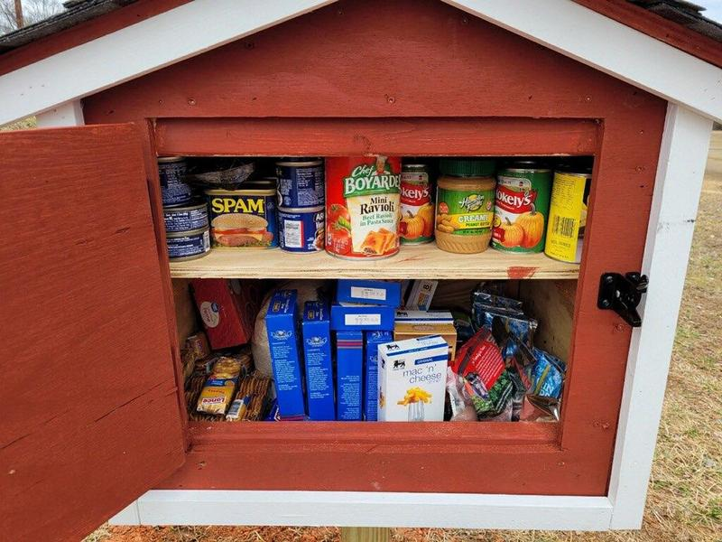 New Little Free Pantry Is Placed In Memory of Hunter Brown Thumbnail Image