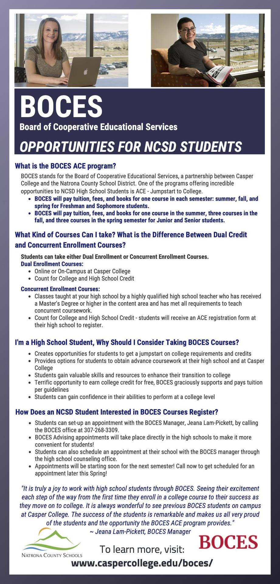 BOCES flyer
