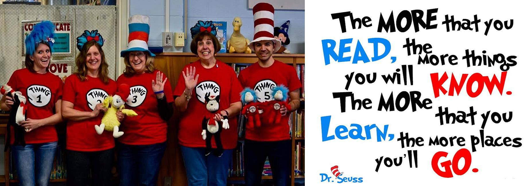 Hatch and Dr. Seuss!