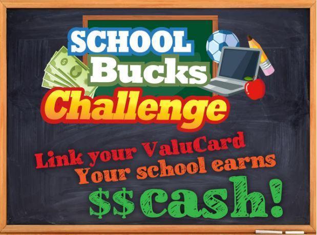 Food City School Bucks Challenge logo