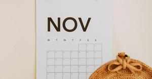 November 2019 Dates to Remember