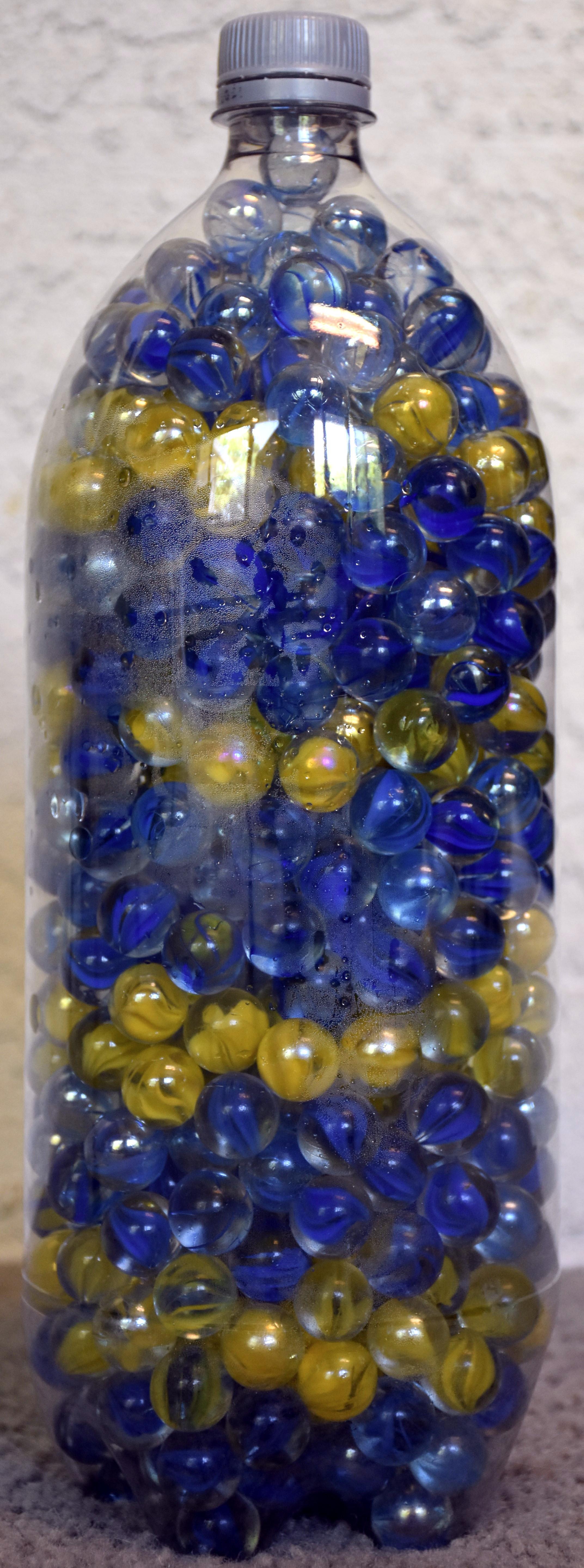 Bottle of Marbles