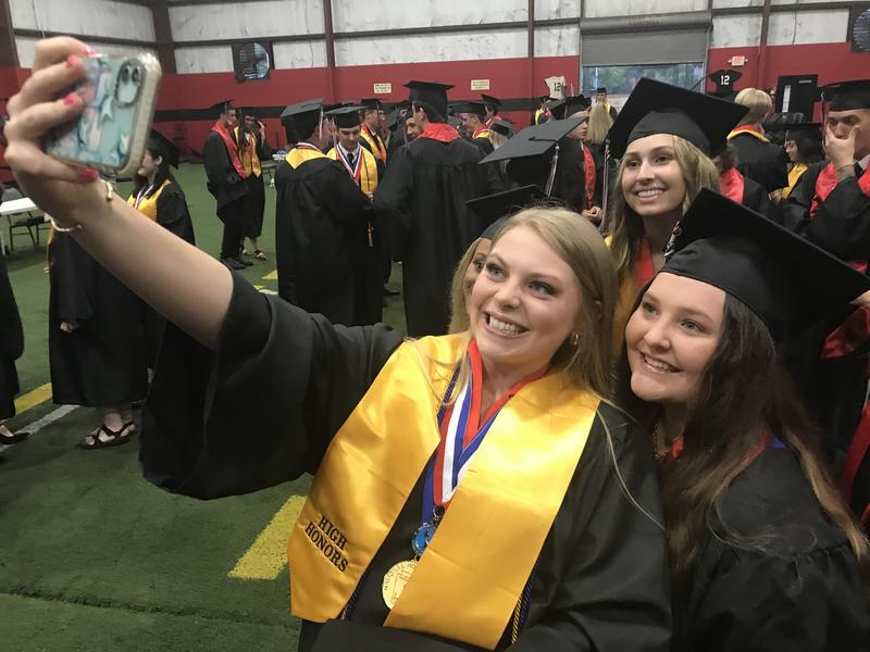 WLHS Graduation Night Preps Photo