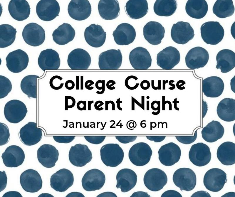 College Course Parent Night Thumbnail Image