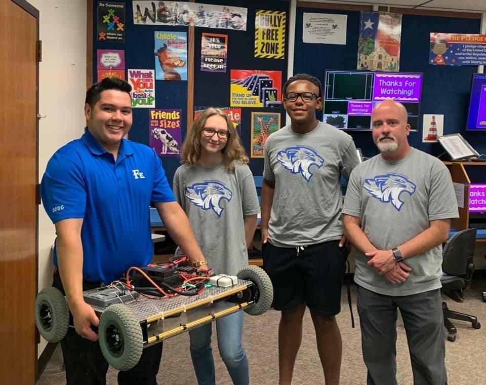 Engineering Students at Crestview Elementary Career Day