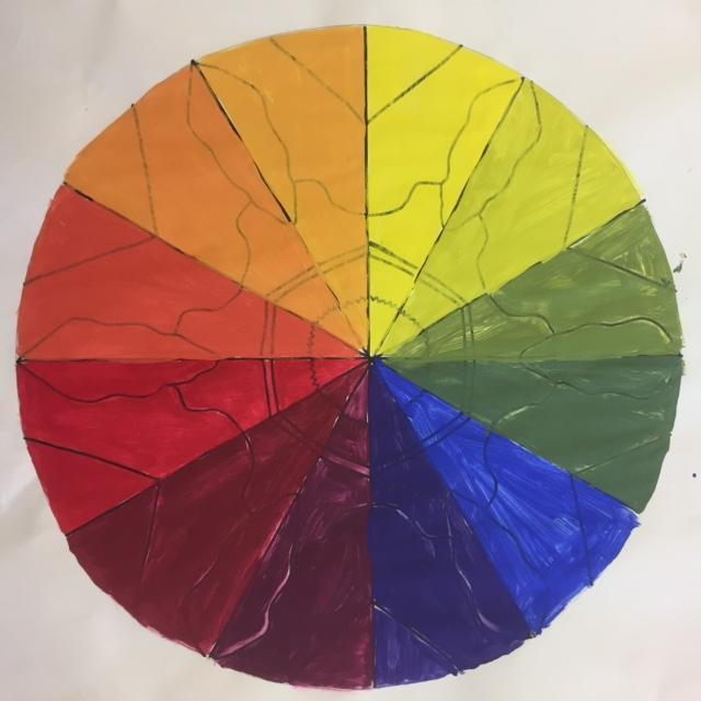 Kaylee P Radial Color Wheel