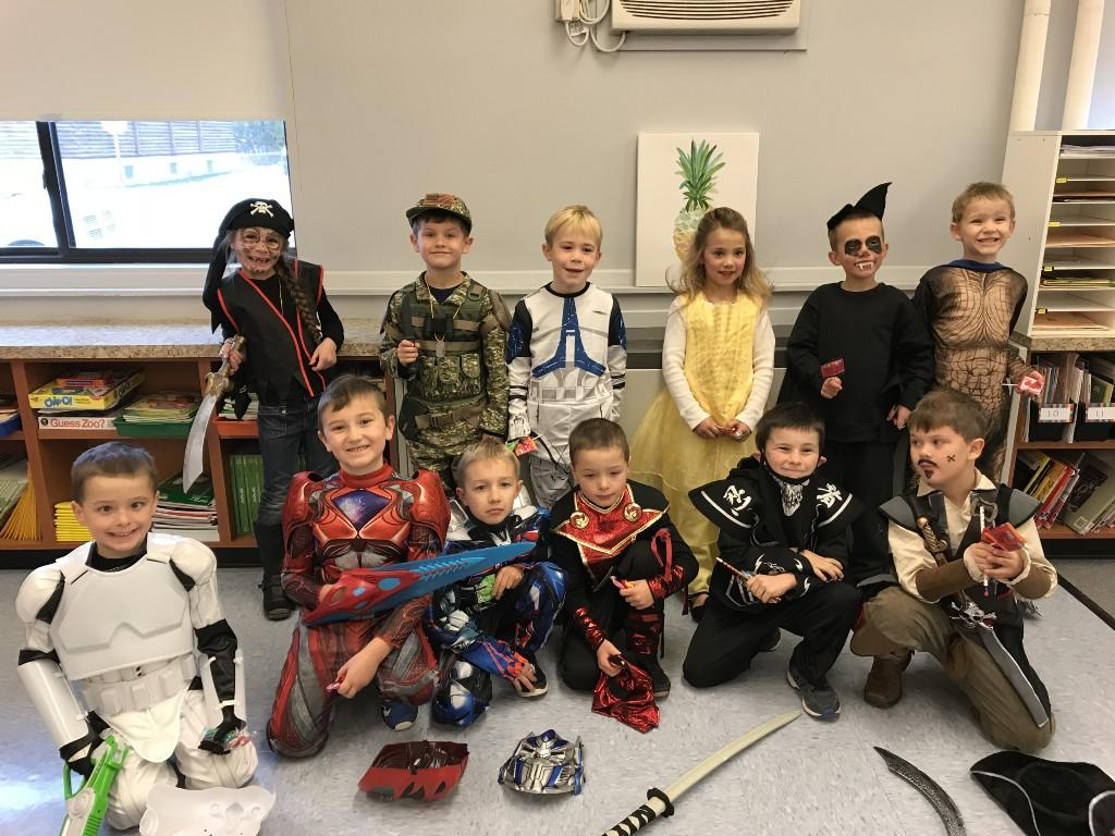 First Grade Halloween Costumes