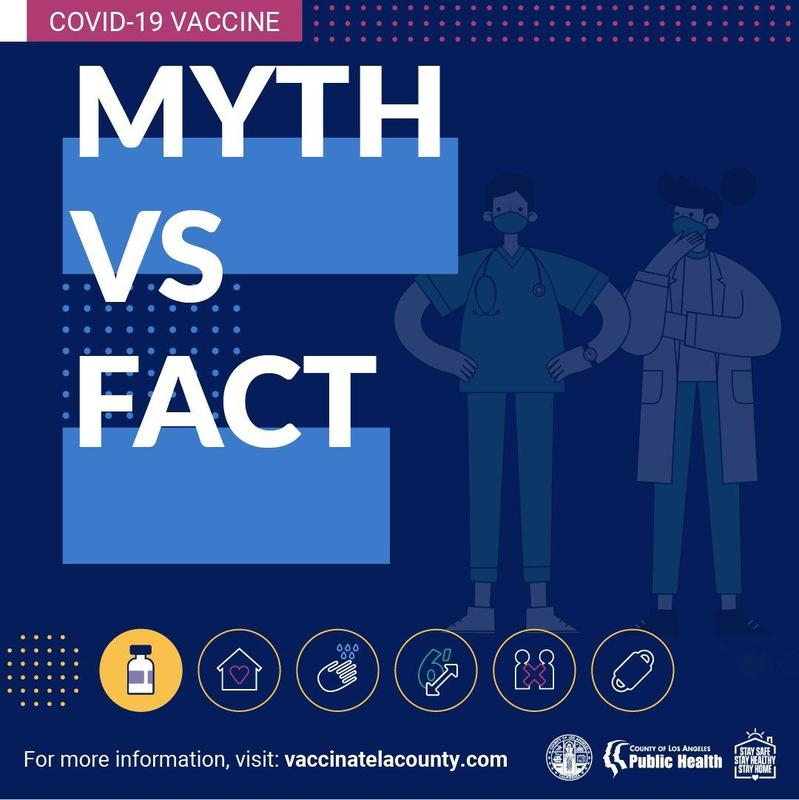 COVID-19 Myths and Facts Featured Photo