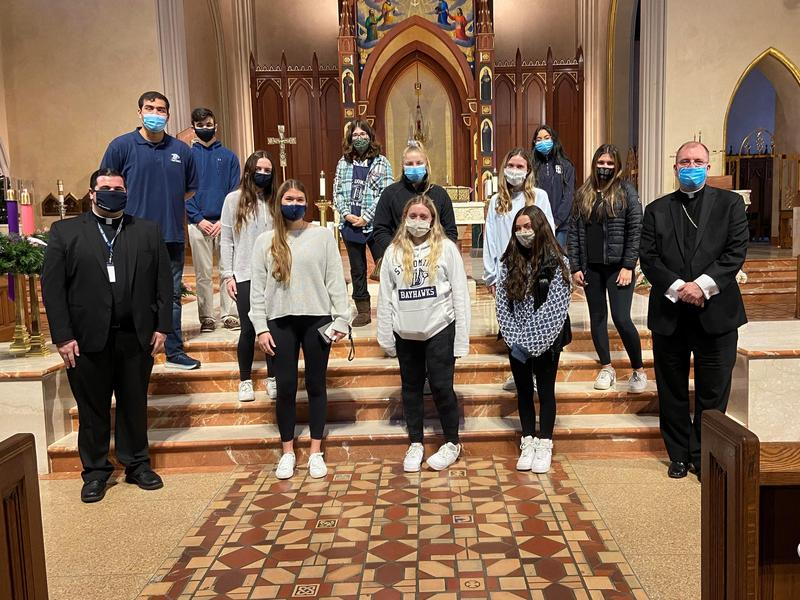 St. Dominic Students Visit St. Agnes Cathedral Featured Photo