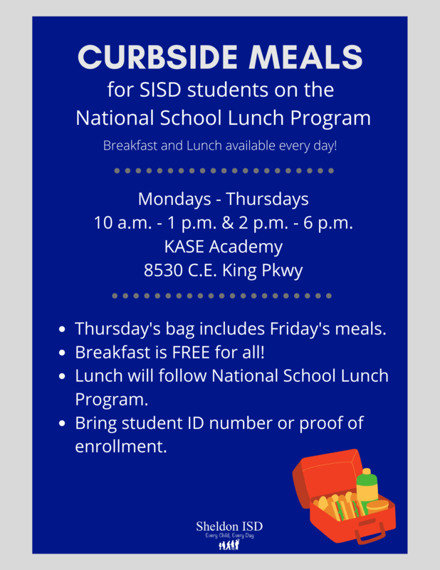 NEW curbside meal times in SISD Featured Photo