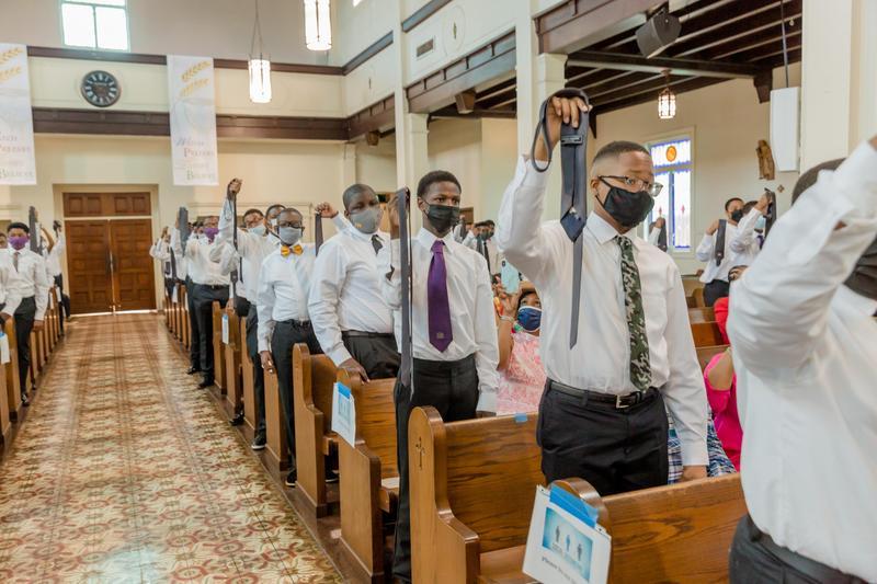 Eighth Grade celebrates Rite of Passage Ceremony Featured Photo