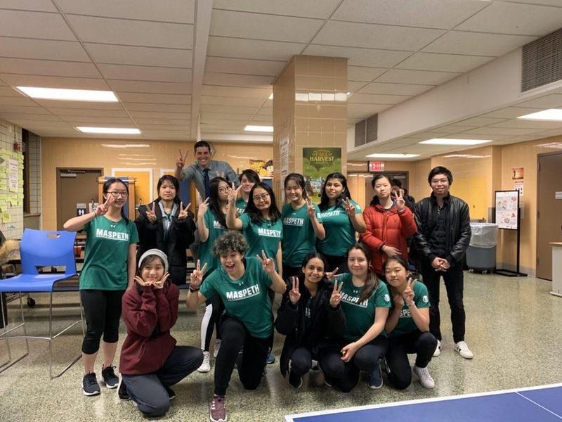 Maspeth High School Varsity Table Tennis 2-0 Featured Photo