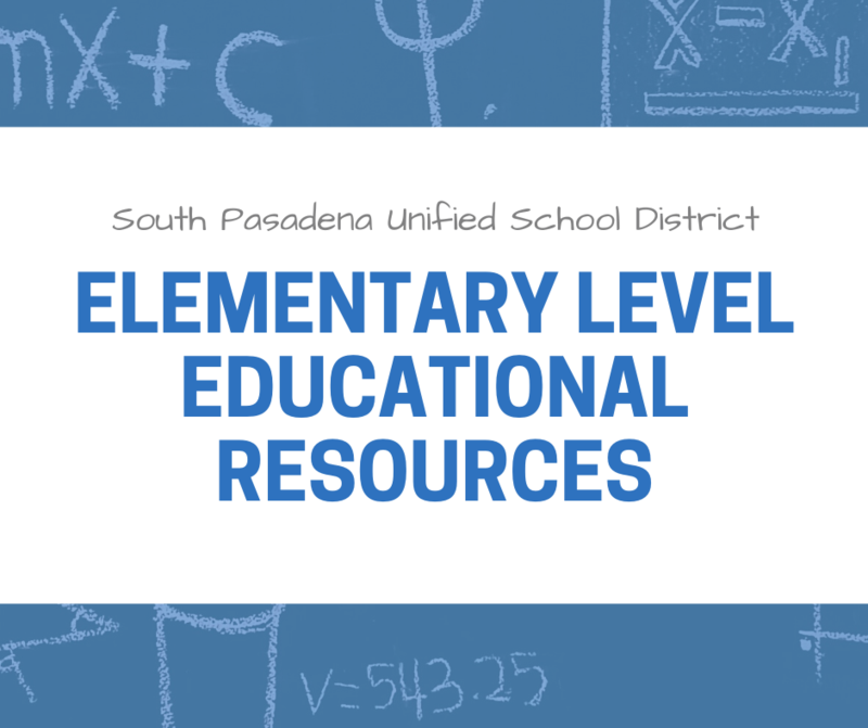 Elementary Level Educational Resources Featured Photo