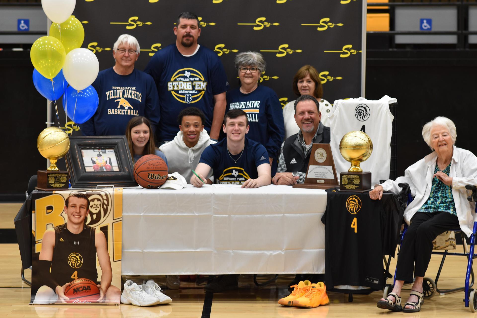 caden cottrell basketball signing