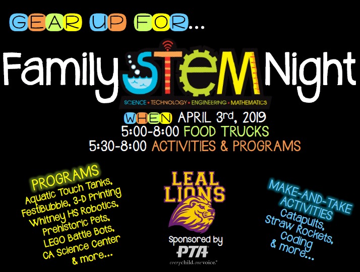 Leal Family STEM Night Featured Photo