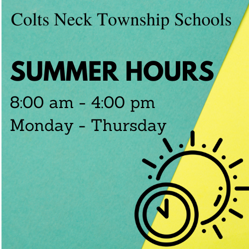 Summer Hours 2021 Featured Photo