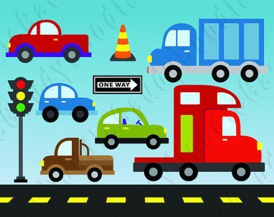 Traffic clipart