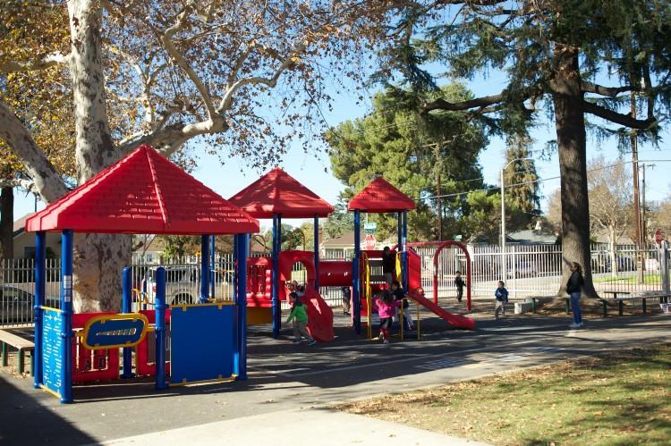 Garfield Kindergarten playground