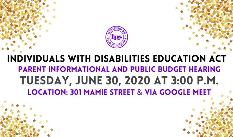HPSD hosts IDEA Parent Informational & Budget hearing Featured Photo