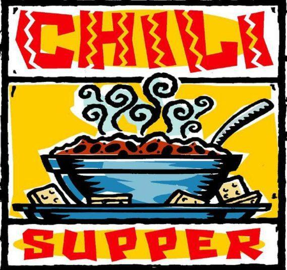 CHILI SUPPER SIGN