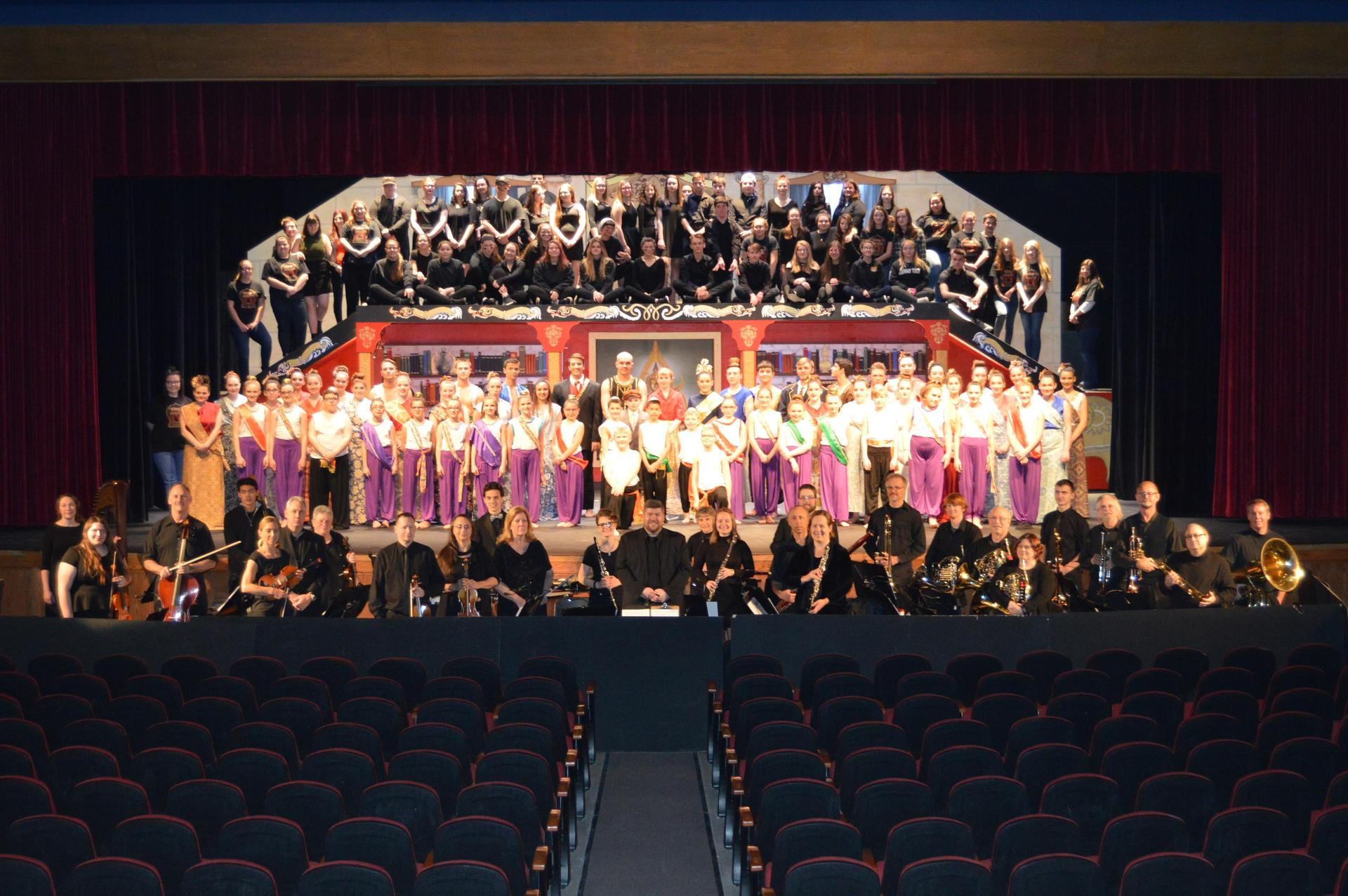 MCHS King&I Cast-Crew-Orch 2018