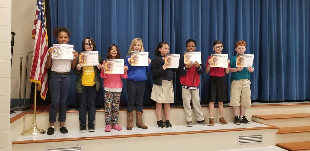 3rd Term Awards - 4th Grade