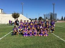 Biola Football with Cheer