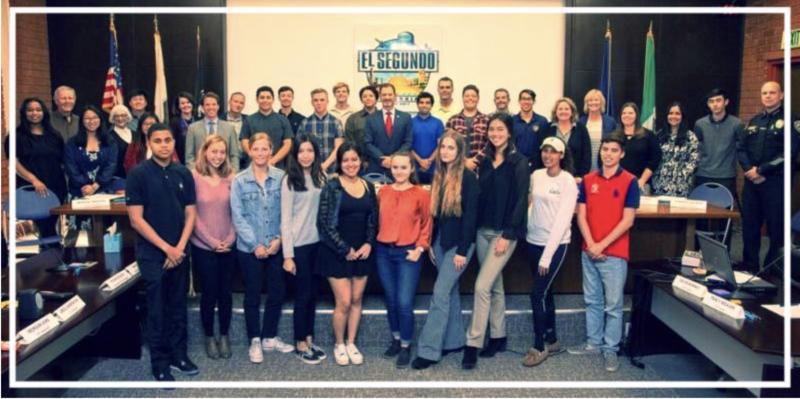 El Segundo High School Earns 2019 California Civic Learning Award of Merit Featured Photo