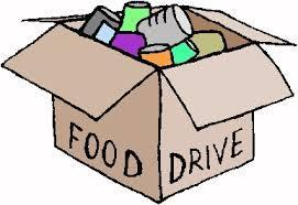 Student Council Food Drive Featured Photo