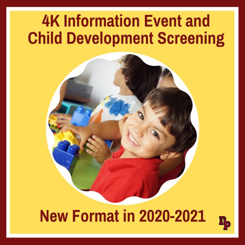 4K meeting and child development days