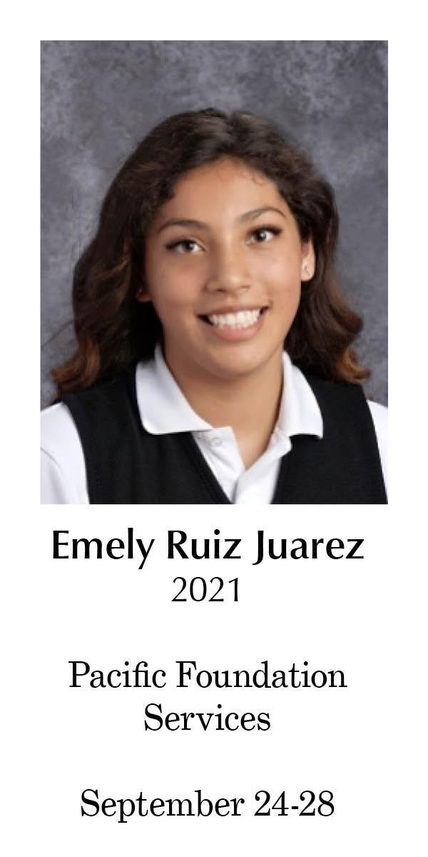 Student Worker of the Week September 24-28
