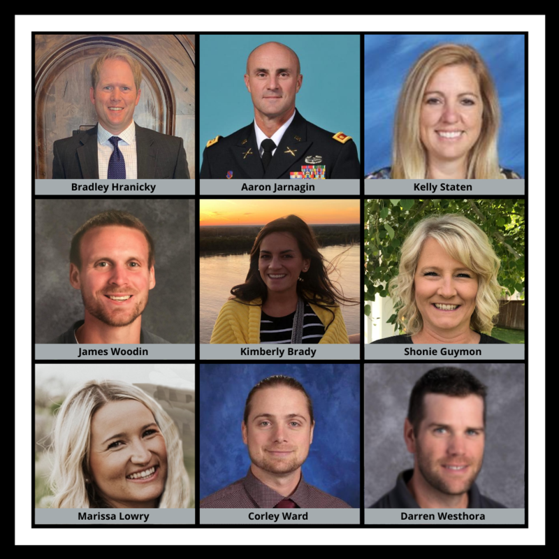 Nine new administrators