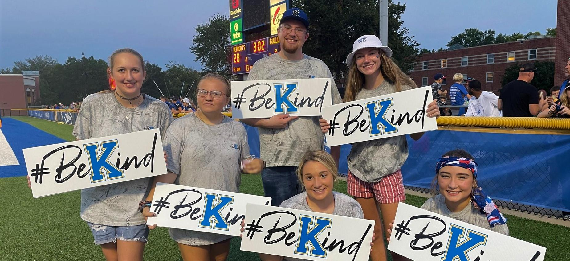 BeKind signs with kids