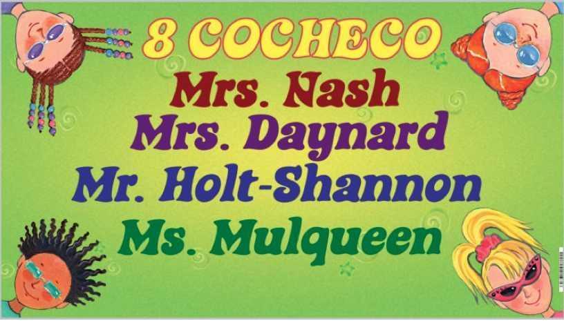 8 Cocheco Teachers