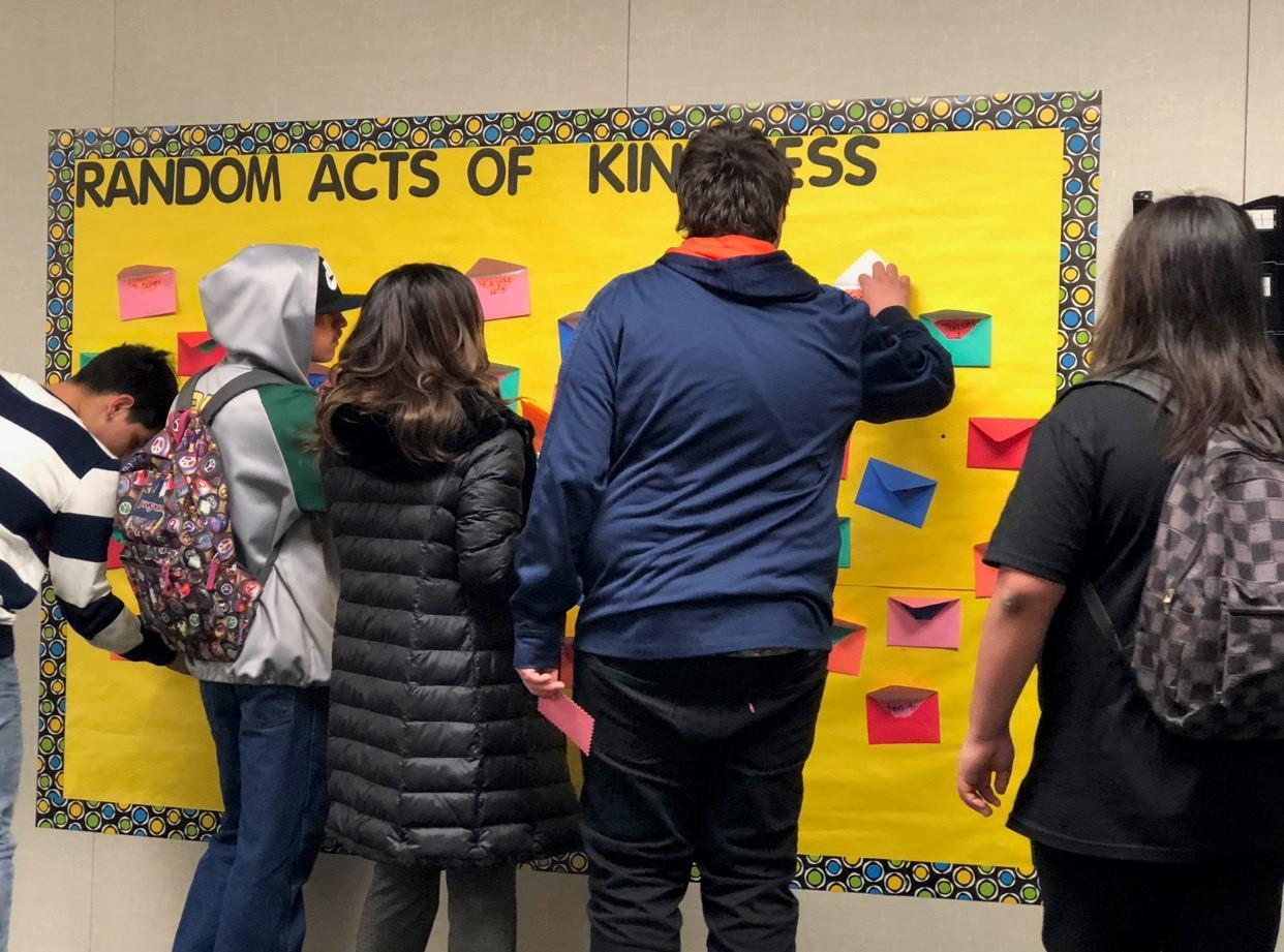 Constellation Kindness Wall
