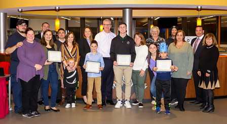 Hackettstown School District Students of the Month - December 2019