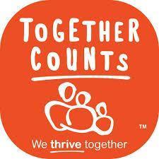 Logo for Together Counts website