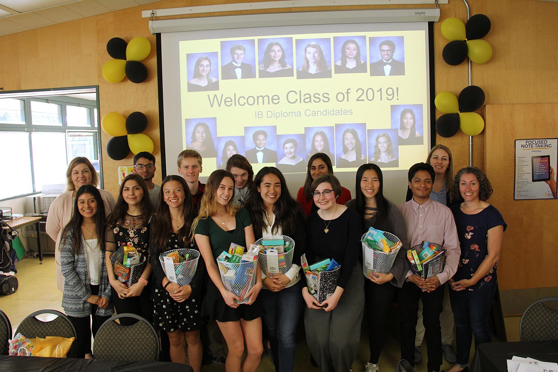 Image of 2019 IB Diploma Candidates at Creativity, Activity & Service Celebration