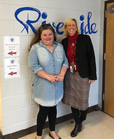 The Riverside Academy Employee of the Month is Keri Avaritt.