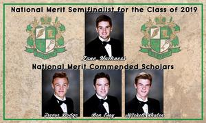 National Merit Scholars 2019