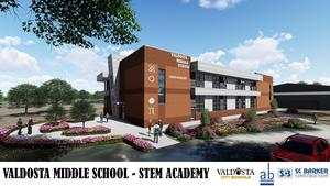 VMS STEM Academy Rendering