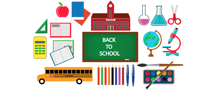 It's back-to-school time.