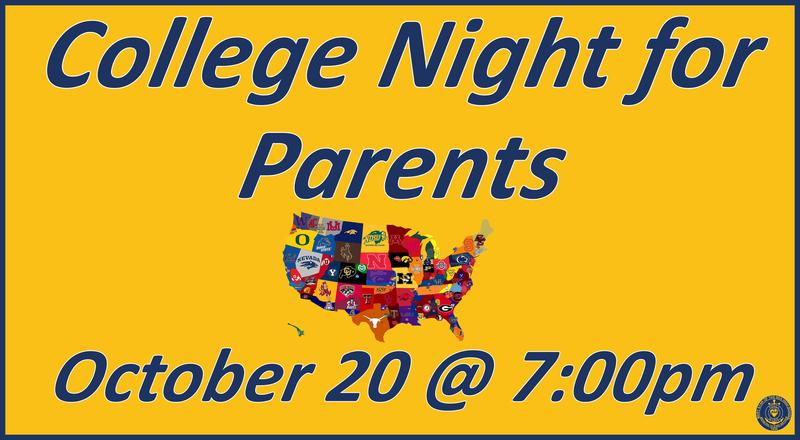 College Night for Parents Featured Photo