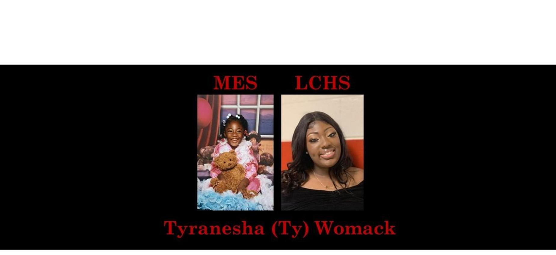 Tyranesha (Ty) Womack K & 12th grade pics