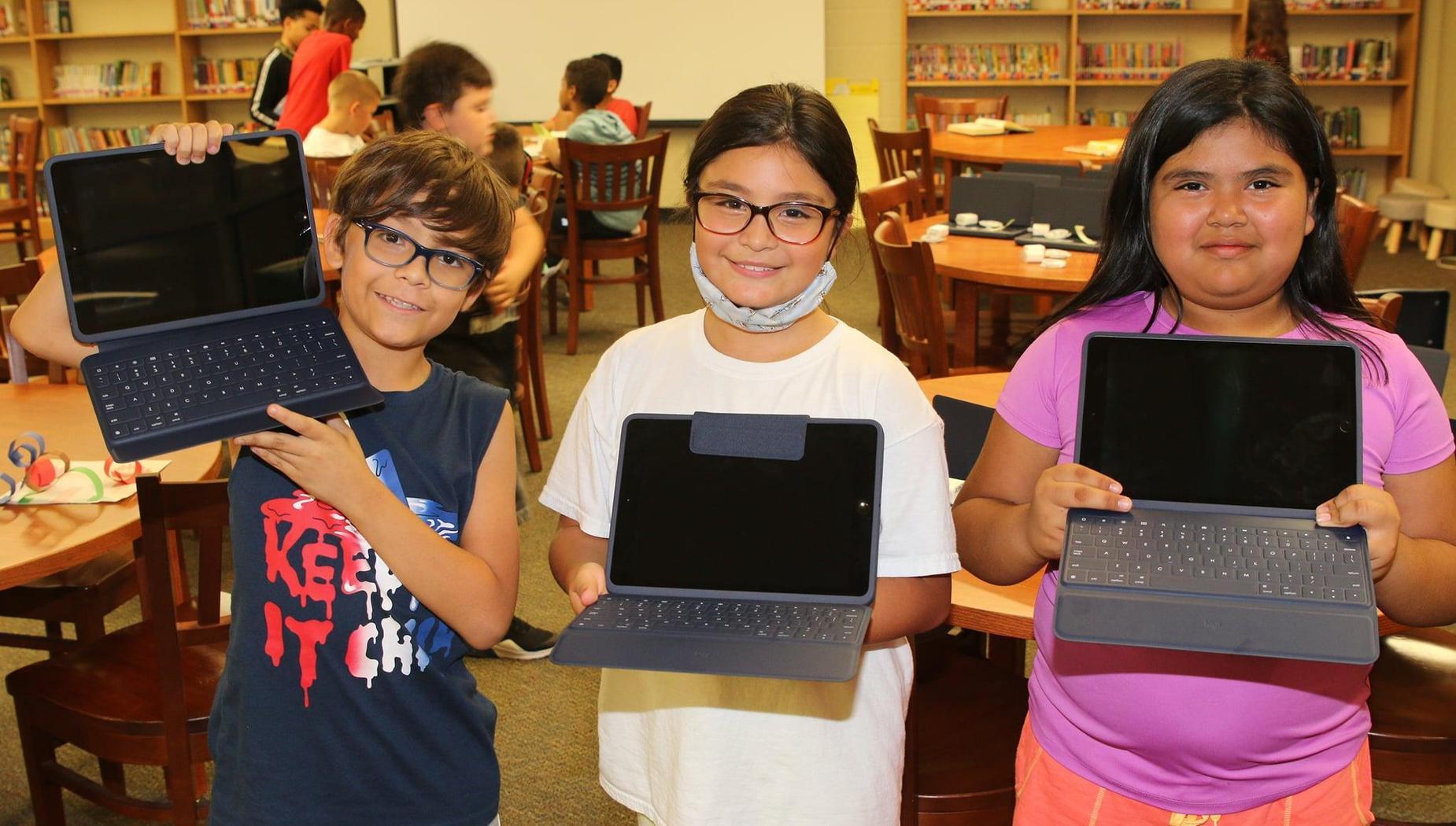 Main Street Intermediate School iPads